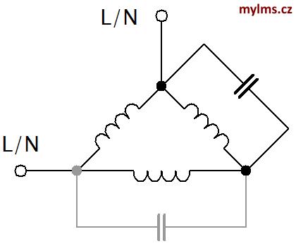 Např. z usměrňovače jde přerušovaný proud, kondenzátor pak spotřebič živí v.
